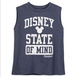 Disneyland Disney State of Mind cropped tank sz S